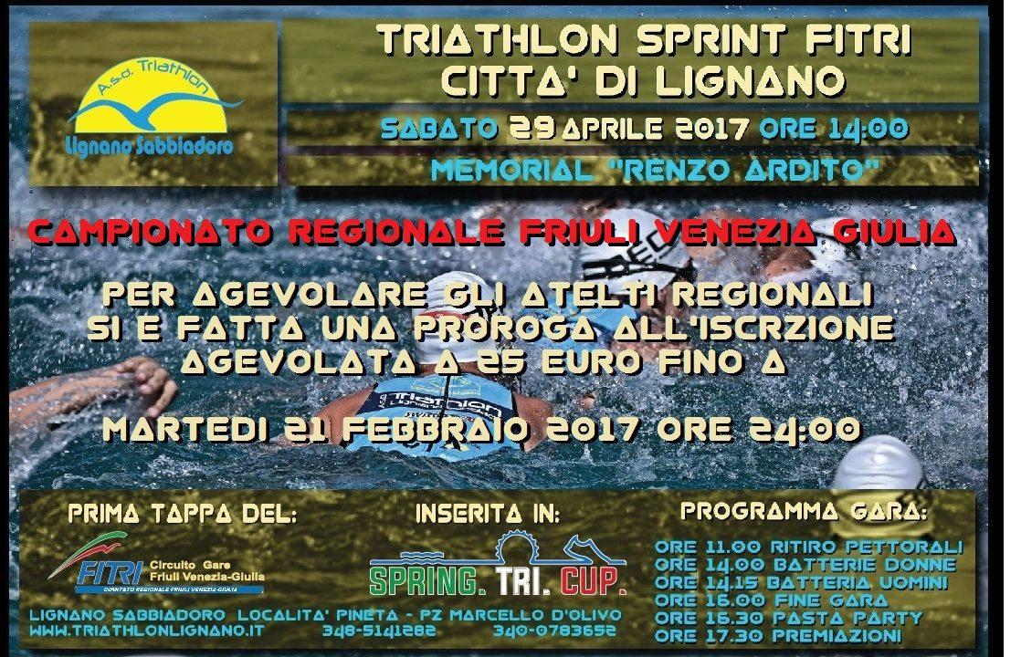 Fitri Calendario Gare.Triathlon Sprint Citta Di Lignano Memorial Renzo Ardito