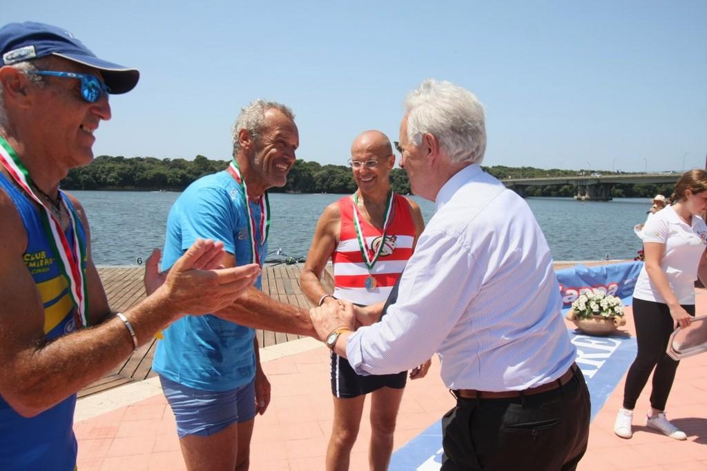 canottaggio master lago Paola
