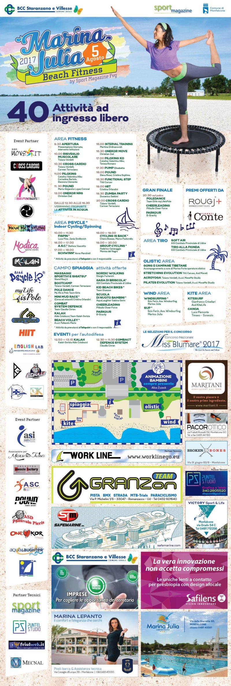 marina julia beach fitness programma web