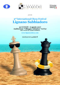 international chess festival lignano sabbiadoro