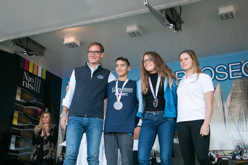 Barcolana nuota_sul podio juniores