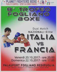 Boxe - Dual Match Italia-Francia