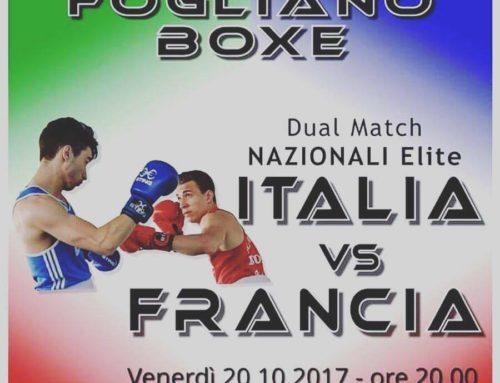 – Boxe FVG – Dual Match Nazionali Elite Italia vs Francia a Fogliano (GO)