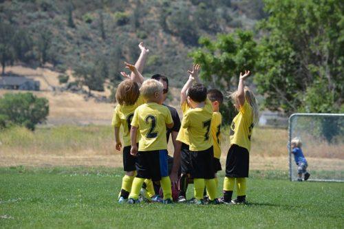 bambini e sport piccoli calciatori