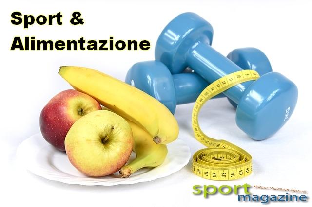 sport alimentazione