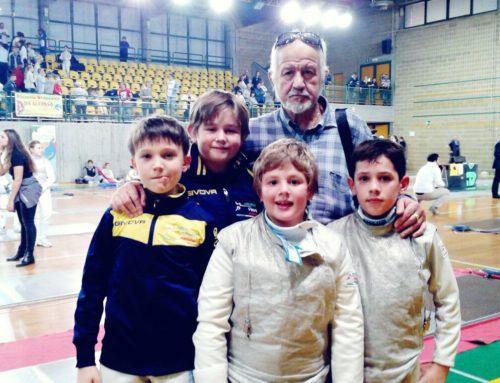 – Fioretto – la Scherma Vittoria Pordenone al Campionato Interregionale