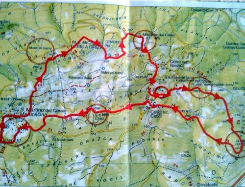 – Nordic Walking – A spasso sul Carso tra trincee, siti storici e sommaco rosso
