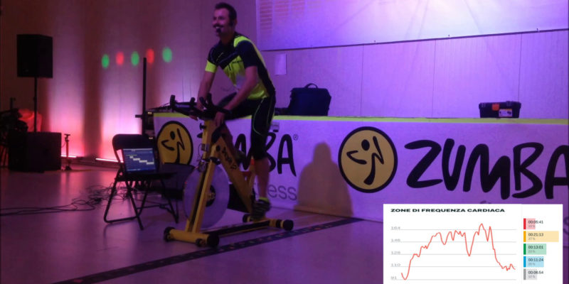 – Indoor Cycling – Allenamento Forza/Resistenza Power Strenght 75-80-85% FC Max- Spinning