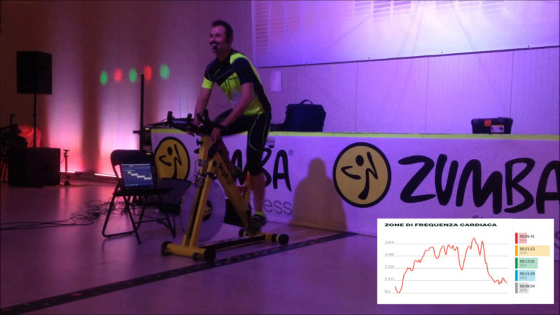 allenamento indoor cycling