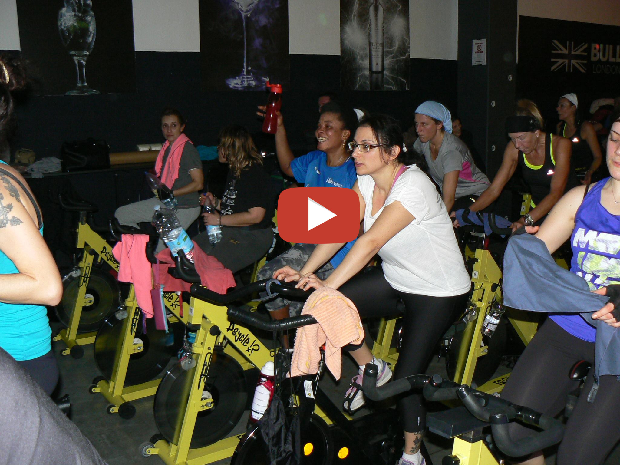 spinning indoor cycling lezione fartleck evento hashtag
