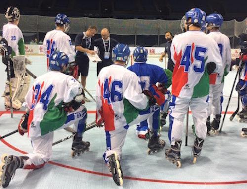 Secondo raduno di visionatura degli azzurrini di hockey inline