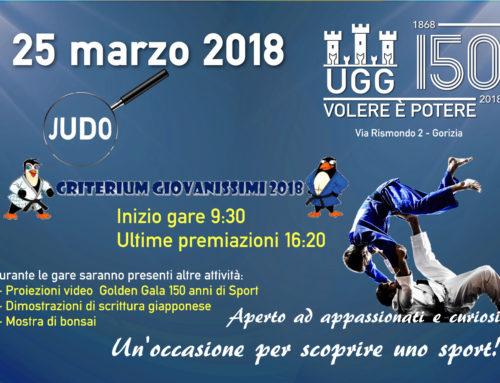 – JUDO – Criterium regionale  categoria giovanissimi UGG