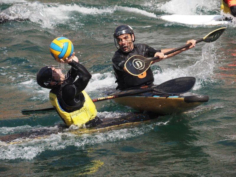 canoa polo trofeo Ponterosso