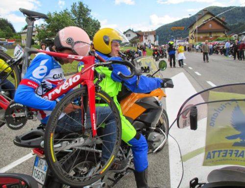 -Motostaffetta Friulana – con il giro d'Italia sullo Zoncolan