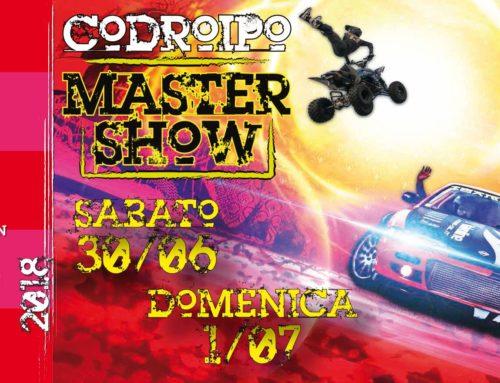 – Codroipo Master Show – evento gratuito a scopo benefico