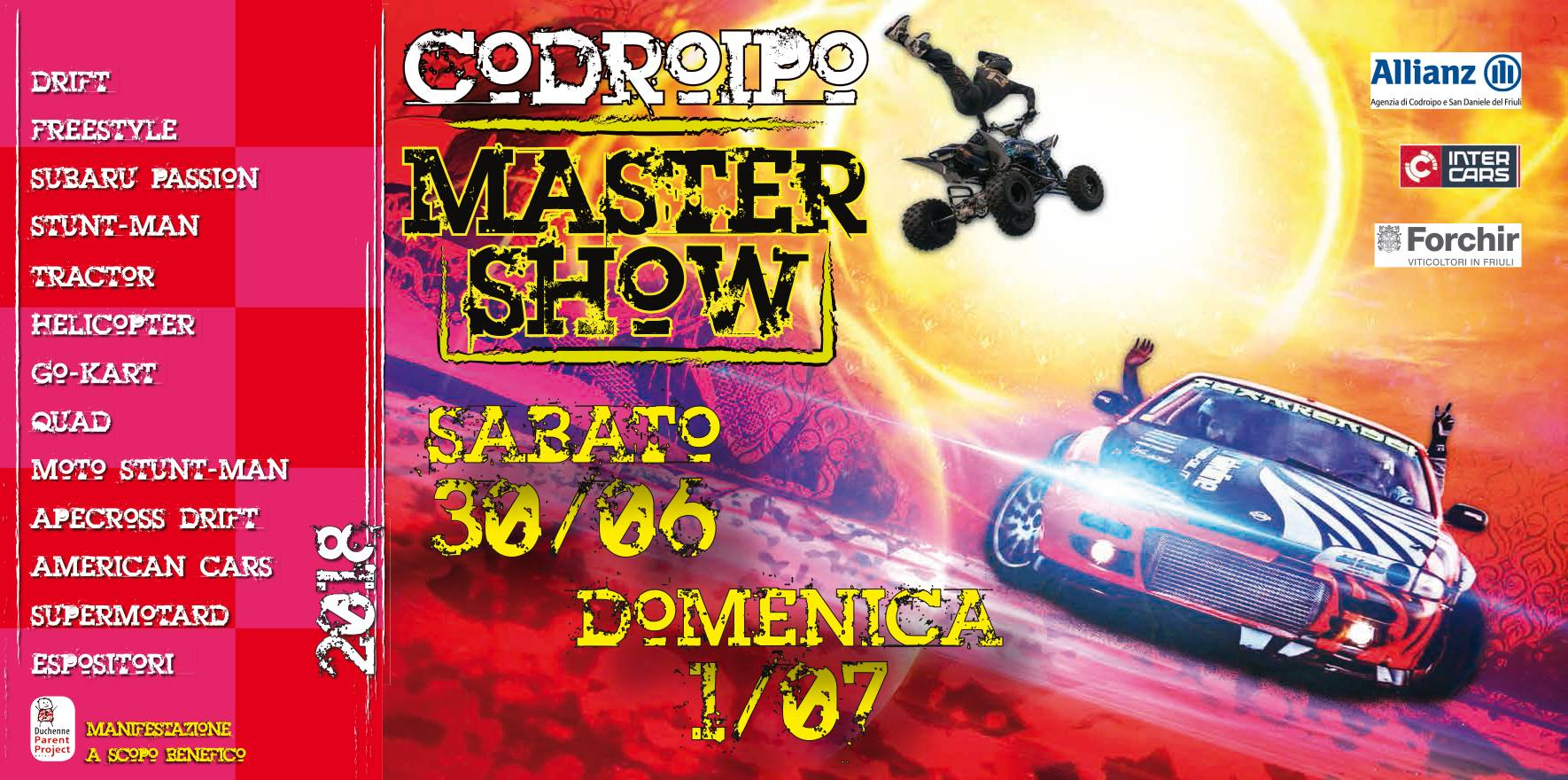 Codroipo master show locandina