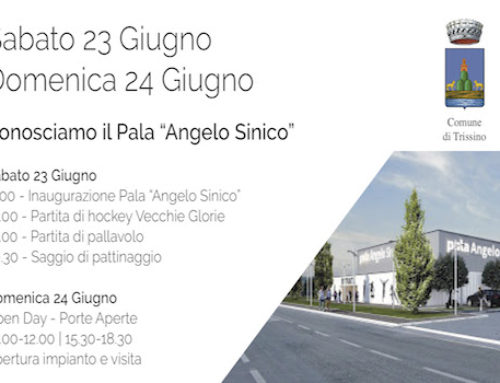 – Inaugurazione Palazzetto Angelo Sinico – Trissino (VI)