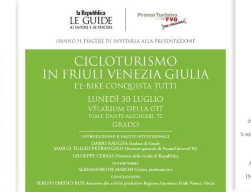 "-Guida ""Cicloturismo in Friuli Venezia Giulia – l'e-bike conquista tutti"""
