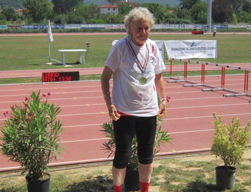 Incredibile! Nives Fozzer, 88 anni colpisce ancora