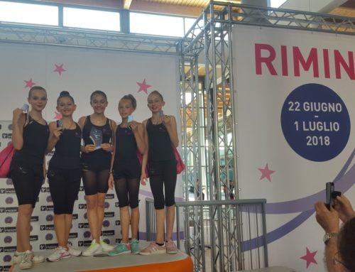 – Unione Ginnastica Goriziana – 3° posto nazionale ginnastica ritmica