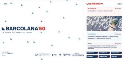 barcolana 50 newsroom