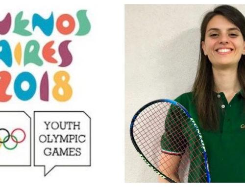 -Squash-Cristina Tartarone alle Olimpiadi Giovanili
