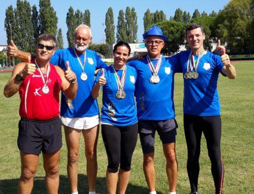 -Aics Udine sugli scudi ai Campionati Italiani di atletica a Cervia