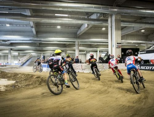 -Bike Spring Festival 2019- La pista indoor per abili bikers