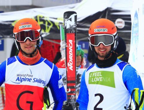 -Sport paralimpico- Mondiali di sci alpino di Kranjska Gora- E' medaglia d'argento nel gigante per la coppia Bertagnolli/Casal