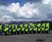 presentazione moto protezione civile friulana
