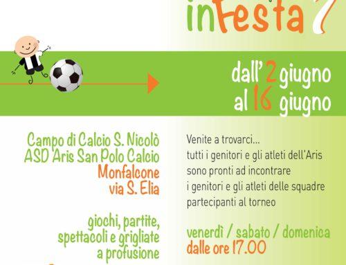 """5° Memorial Pericle Pasini – VII Edizione Manifestazione -""""sQuole calcio in Festa"""""""