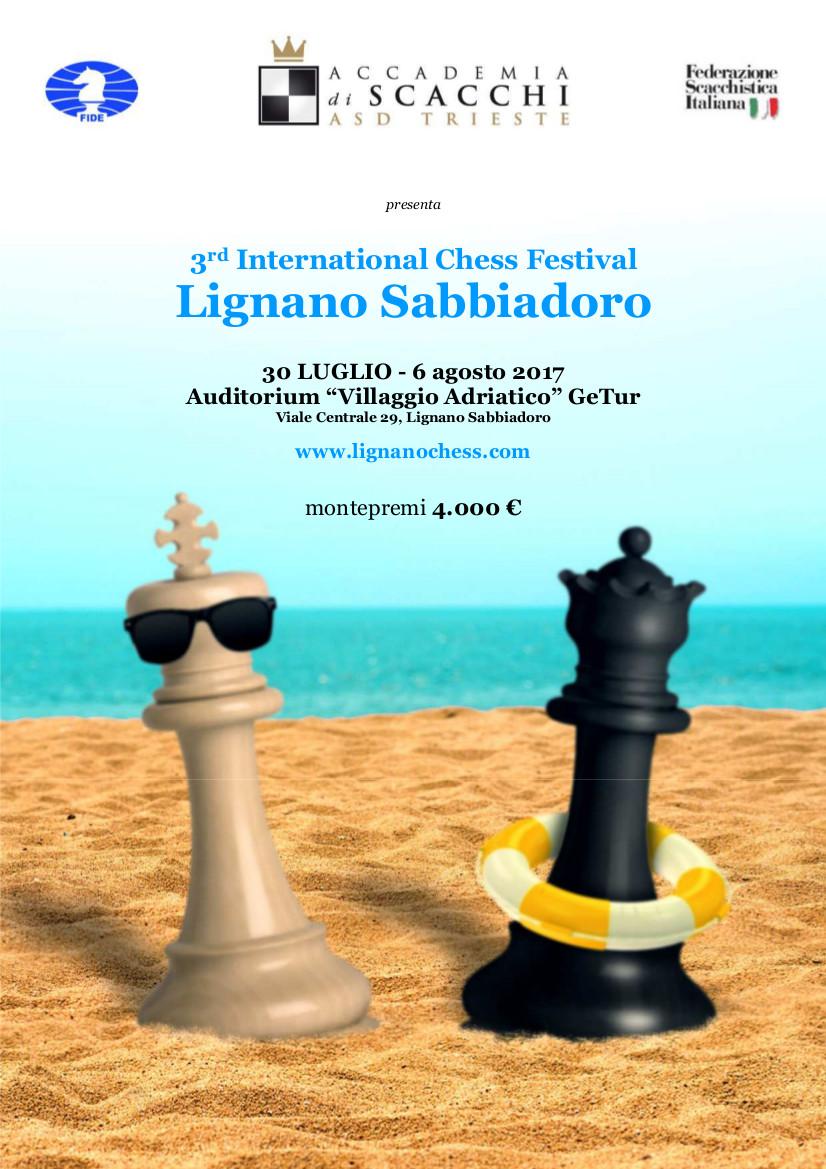 international chess festival lignano sabbiadoro