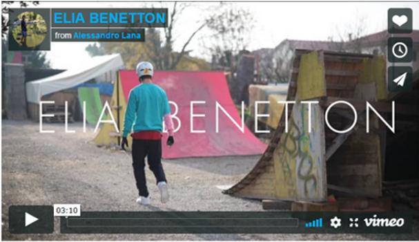Elia e il suo parco BMX nel cortile di casa sua -Guarda il video