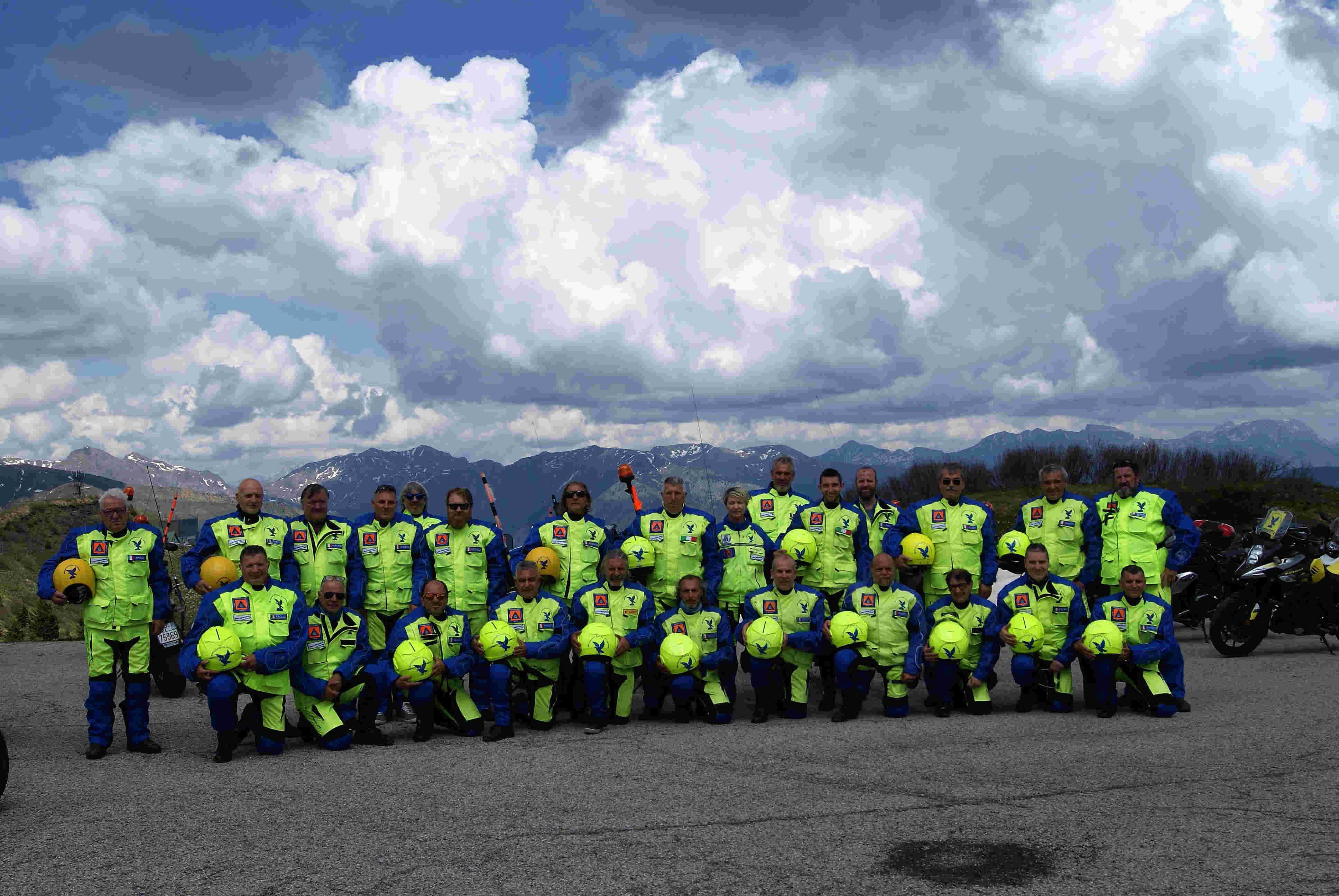 – Protezione Civile FVG -Presentazione della prima moto del Friuli Venezia Giulia