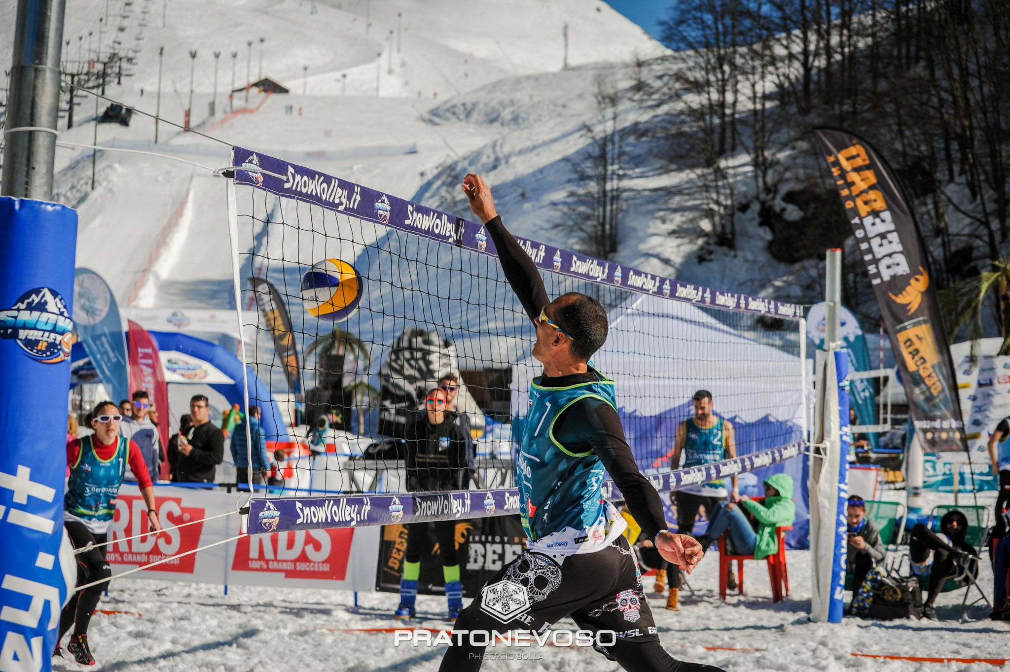 -Snow Volley Tour – La prima tappa in Friuli Venezia Giulia il 9 e 10 marzo sullo Zoncolan
