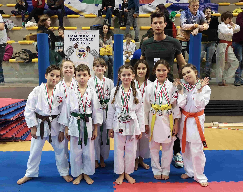 Asd Karate Strassoldo domina al Campionato Regionale FVG