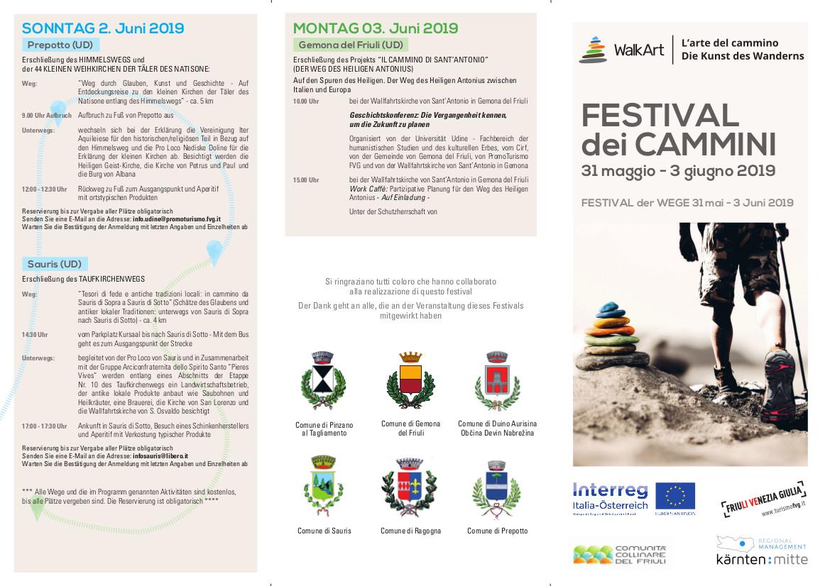 Il Friuli Venezia Giulia in cammino fra le vie del passato e del futuro